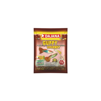 DAJANA GUPPY GOURMET FLAKES 80 ML 13 GR (25)